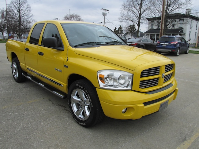 Used 2008 Dodge Ram 1500 Truck Quad Cab For Sale Washington IN