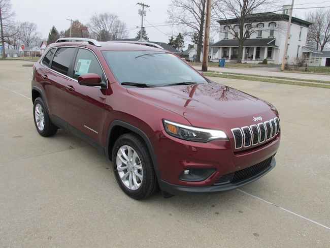 New  2019 Jeep Cherokee LATITUDE FWD Sport Utility For Sale Washington, IN