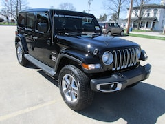 New 2019 Jeep Wrangler UNLIMITED SAHARA 4X4 Sport Utility for sale in Washington, IN