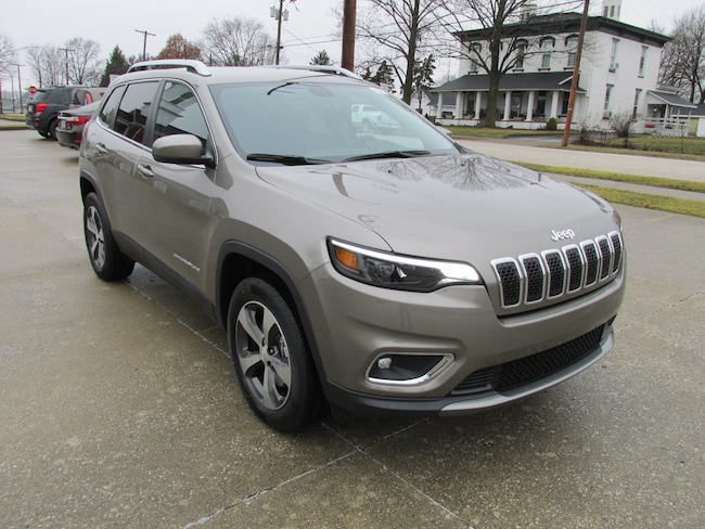 New  2019 Jeep Cherokee LIMITED 4X4 Sport Utility For Sale Washington, IN