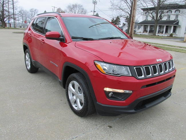 New  2019 Jeep Compass LATITUDE 4X4 Sport Utility For Sale Washington, IN