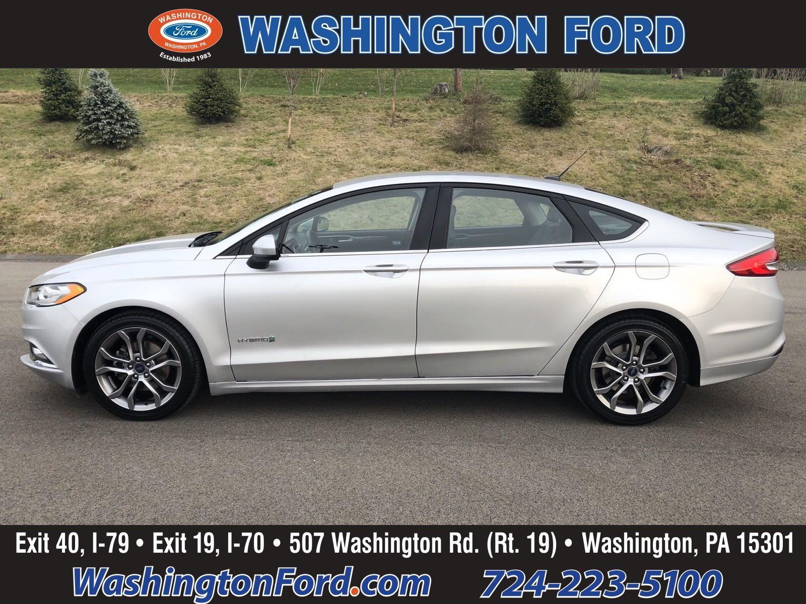 2017 Ford Fusion Hybrid HYBRID-SE-SportPkg-CERTIFIED!! Sedan