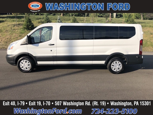 2017 Ford Transit-350 XLT-12 PASSENGER-CERTIFIED!! Wagon Low Roof Wagon