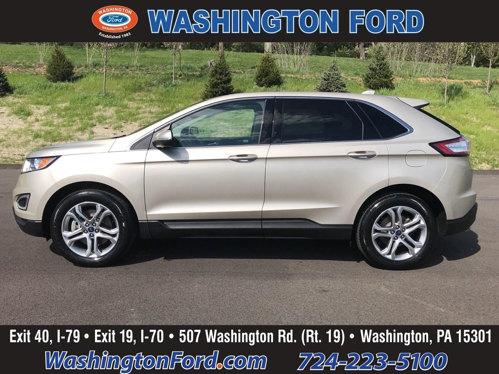 2017 Ford Edge AWD-TITANIUM-CERTIFIED!! SUV
