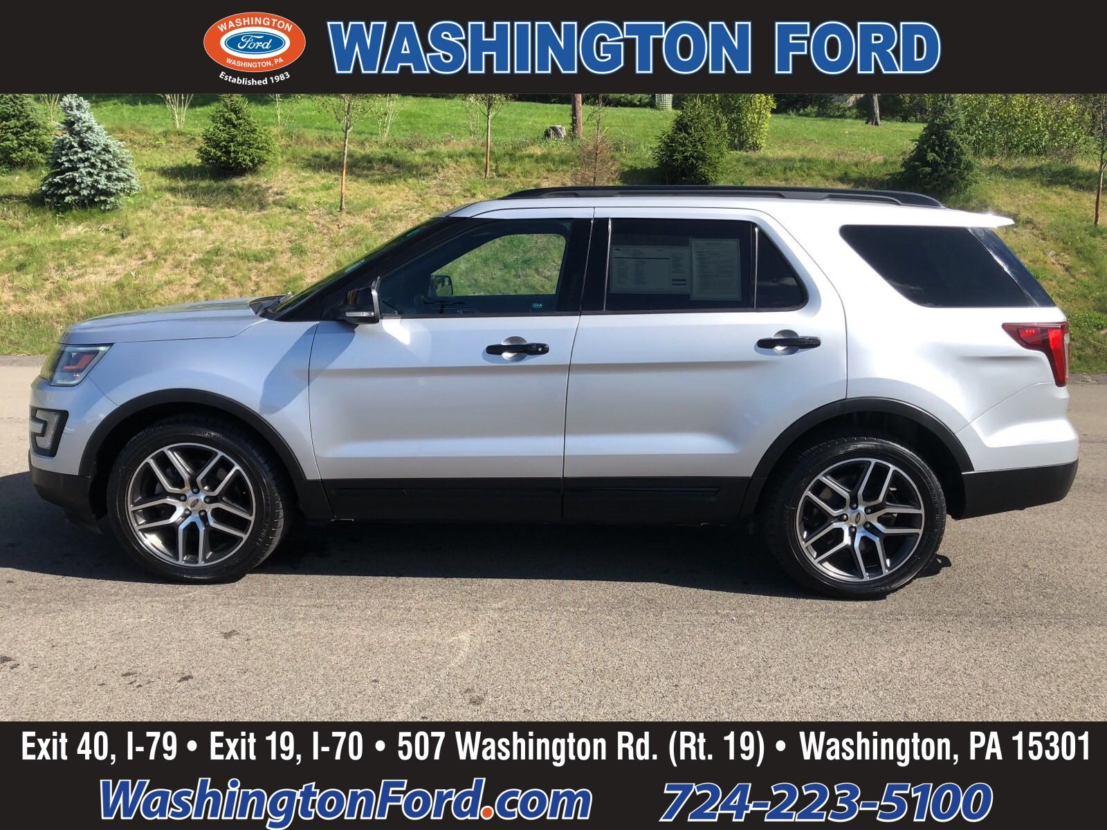 2017 Ford Explorer 4X4-SPORT-CERTIFIED!! SUV