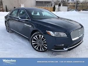 2017 Lincoln Continental Select | Executive Driven