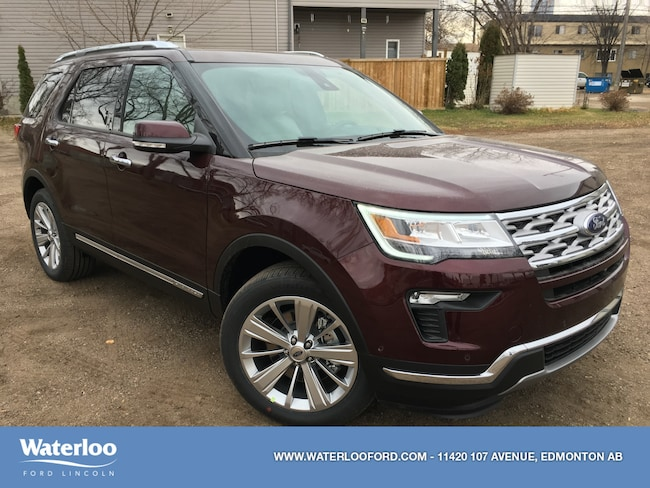 New 2019 Ford Explorer Limited SUV in Edmonton