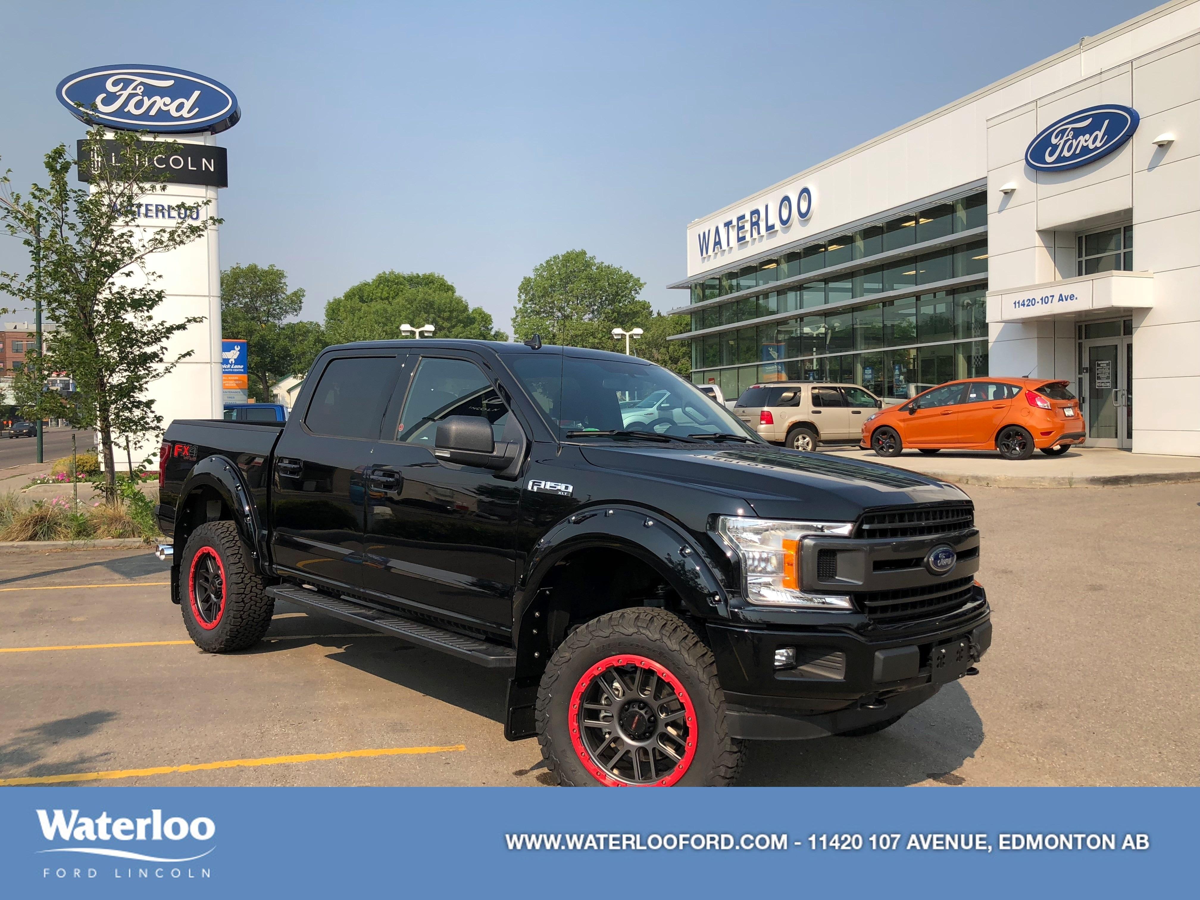 2018 Ford F-150 XLT | ROUSH | 301A | 4x4 | SuperCrew 145 Truck SuperCrew Cab