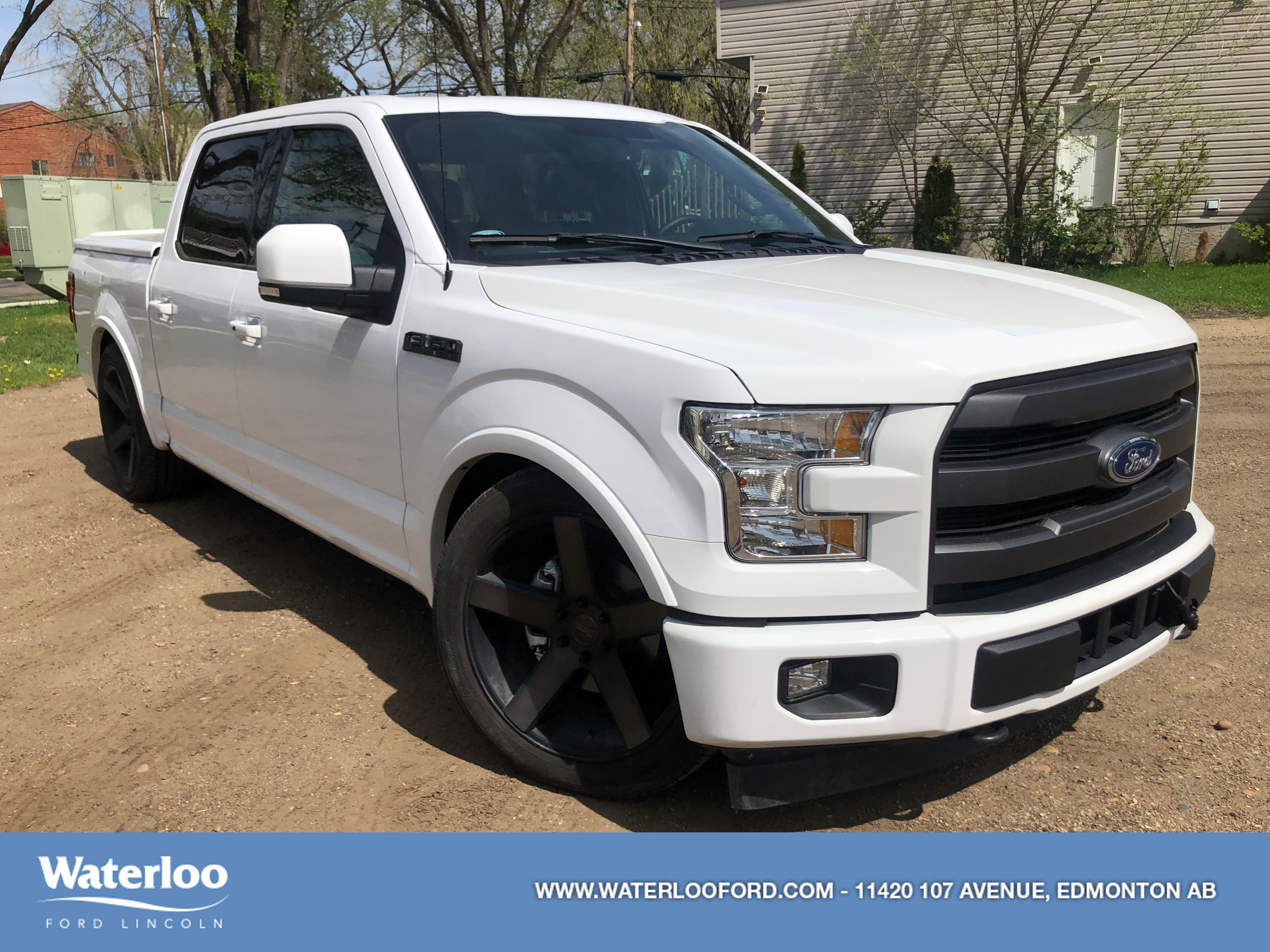 2017 Ford F-150 LOWERED | DEMO SPECIAL |  Lariat | 501A | 4x4 | Su Truck SuperCrew Cab