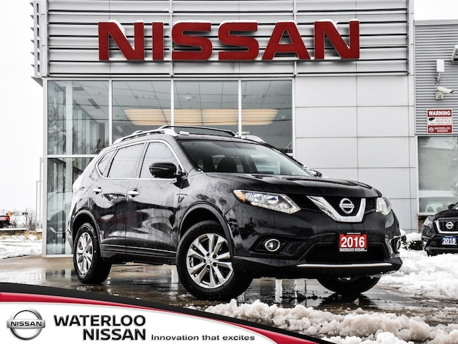 Used 2016 Nissan Rogue SV AWD TECH SUV in Waterloo, ON