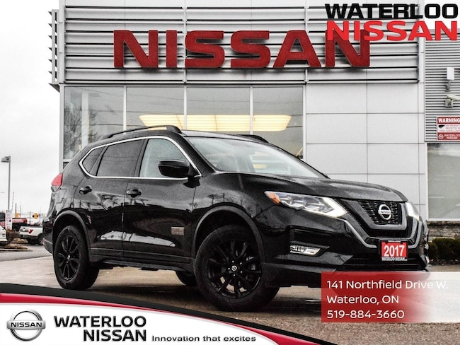 Used 2017 Nissan Rogue SV AWD SUV in Waterloo, ON