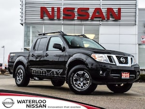 2015 Nissan Frontier Crew Cab PRO-4X | LEATHER | NAVIGATION
