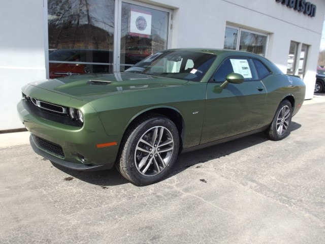New 2018 Dodge Challenger Gt All Wheel Drive F8 Green For Sale In