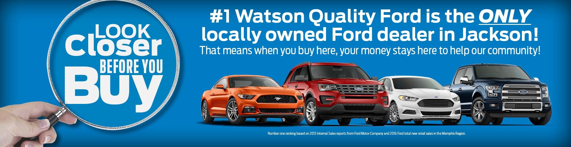 Jackson Watson Quality Ford Inc New Used Ford Cars Ridgeland Ms
