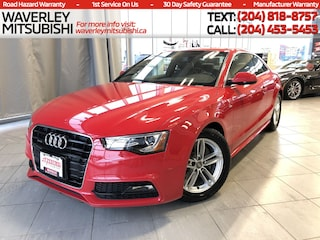 2015 Audi A5 COUPE 2.OT 4CYL *SUNROOF* 220-HP ALLOY/ LEATHER Car