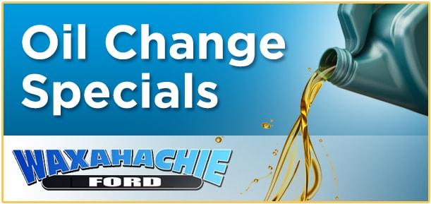 Oil Change Specials Near Midlothian, TX | Waxahachie Ford