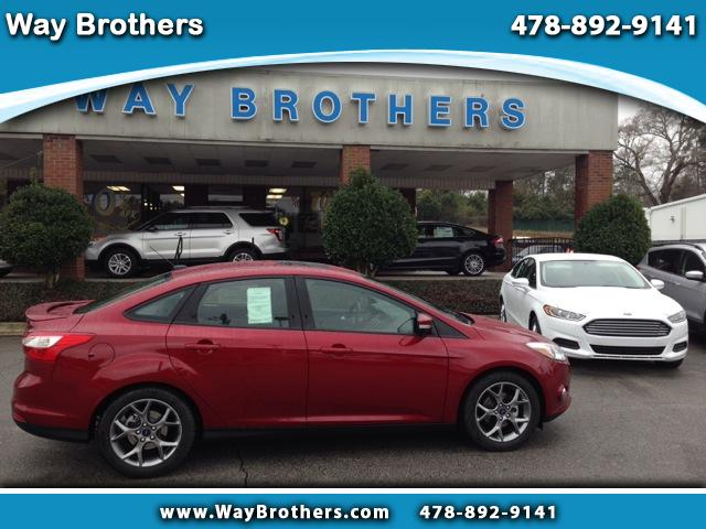 2014 Ford Focus 4 DR Sedan SE Sedan