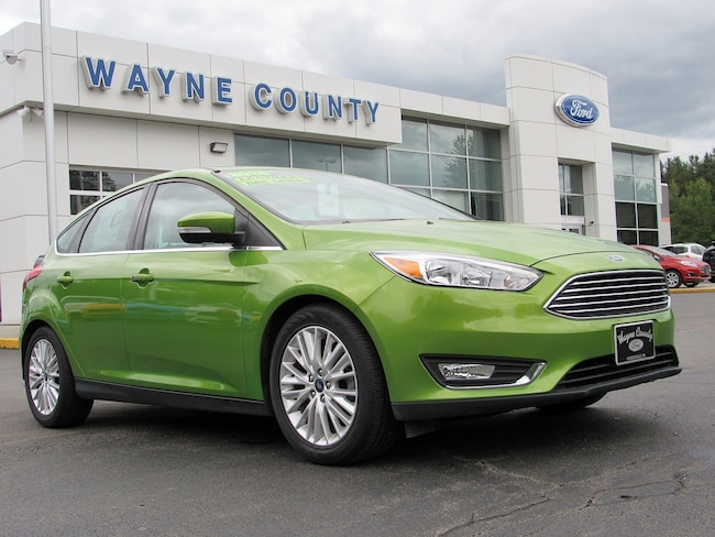Used 2018 Ford Focus For Sale At Wayne County Ford Vin