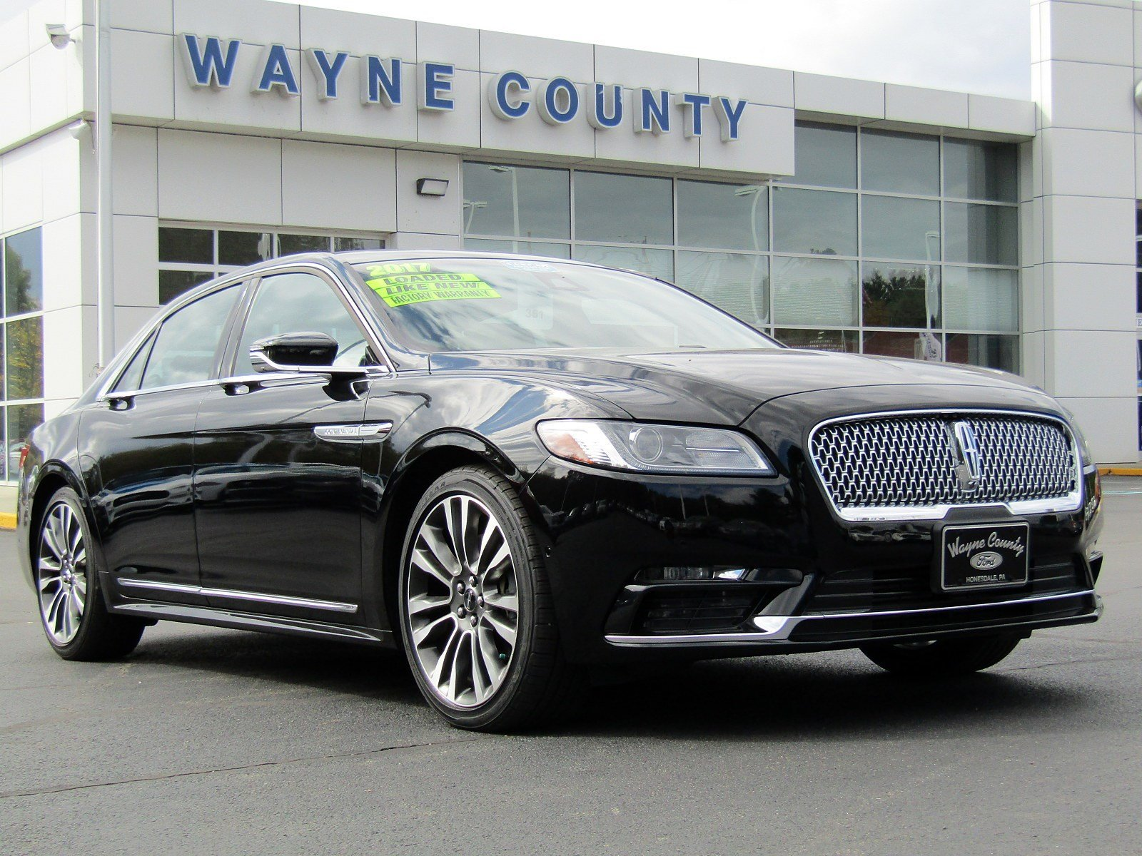 2017 Lincoln Continental Reserve 4dr Car