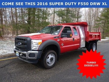 2016 Ford F-550 Chassis XL *SUPERDUTY TURBO DIESEL* Truck Super Cab