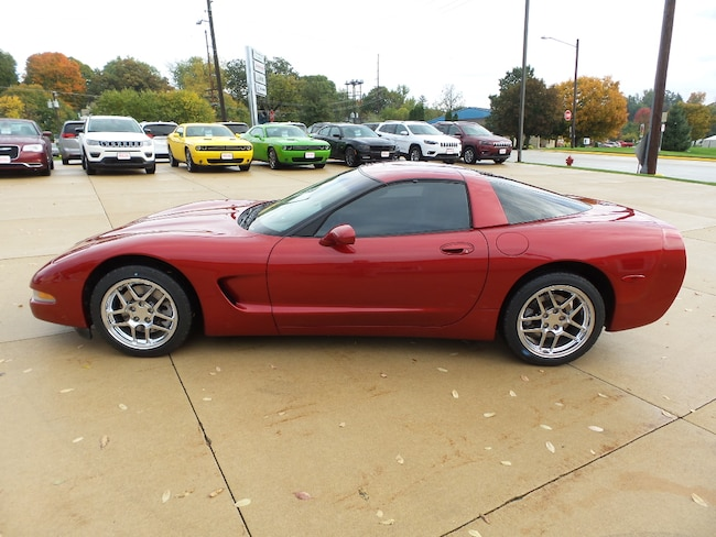 2001 Chevrolet Corvette Base Coupe