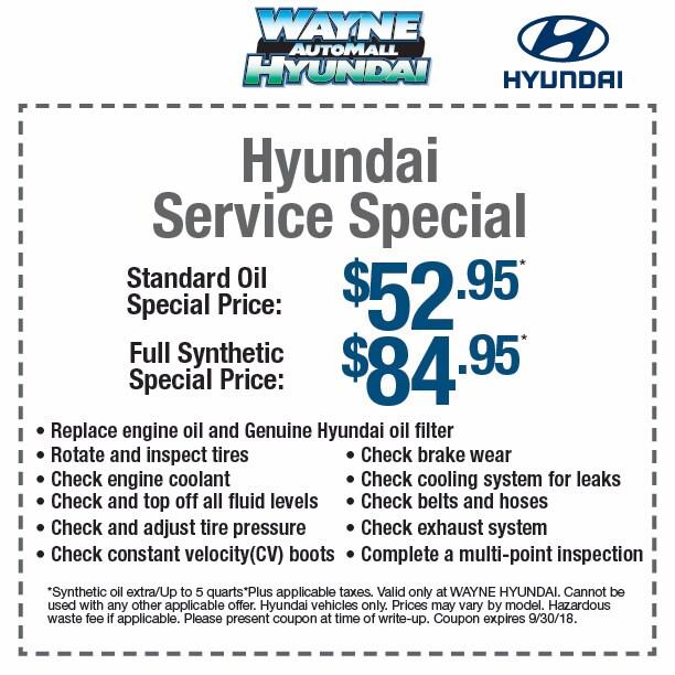 Hyundai Service Special