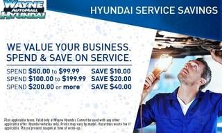 Hyundai Service Savings