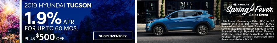 2019 Tucson March Offer