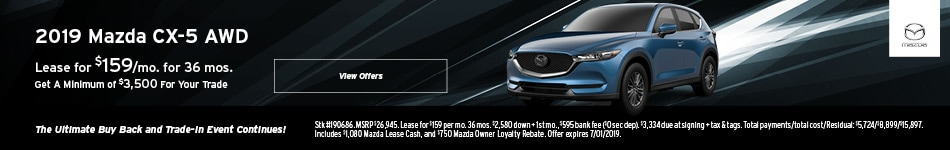 2019 CX-5 June Lease Offer