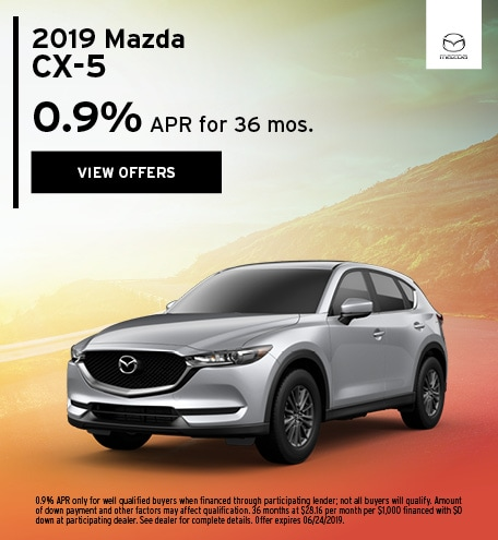 2019 CX-5 June Offer
