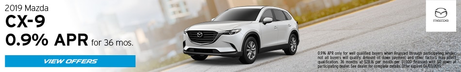 2019 Mazda CX-9 May Offers