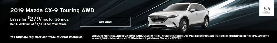 2019 CX-9 June Leas Offer