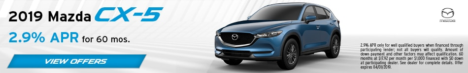 2019 Mazda CX-5 March Offer