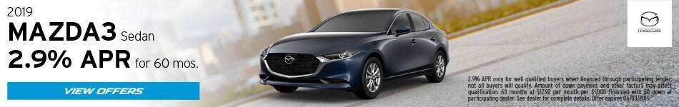 2019 Mazda Mazda3 May Offers