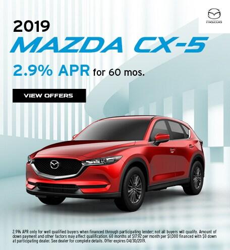 2019 Mazda CX-5 April Offer