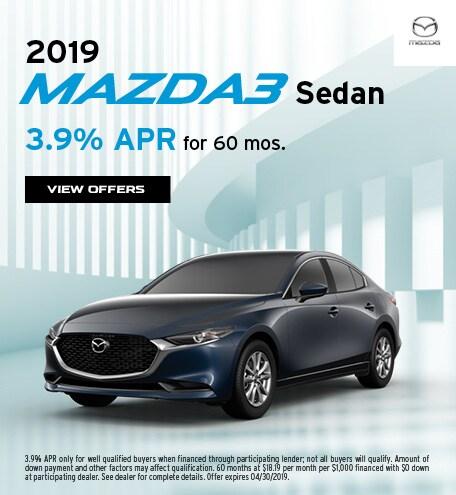 2019 Mazda3 April Offer