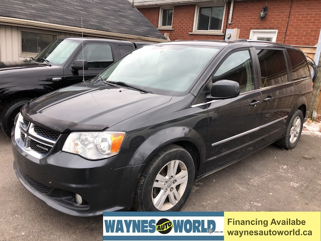 2012 Dodge Grand Caravan Crew **NAVI & DVD & POWER SLIDING DOORS** Minivan