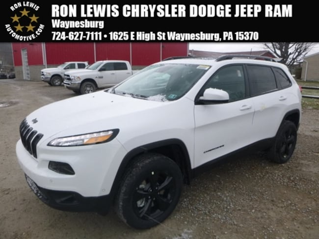 New 2018 Jeep Cherokee Limited SUV near Pittsburgh