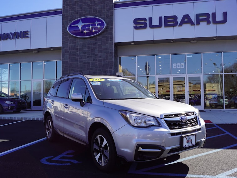 Certified Used 2018 Subaru Forester 2.5i Premium SUV in Wayne NJ