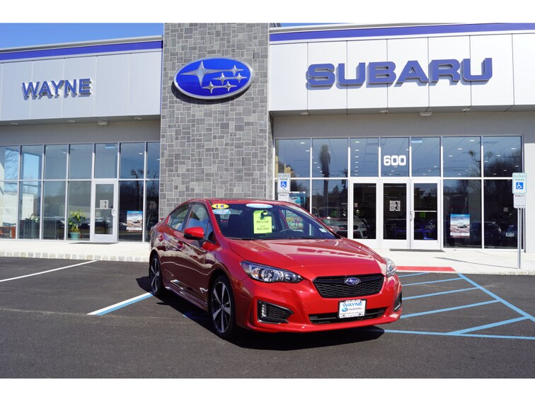 Used 2018 Subaru Impreza 2.0i Sport with Sedan in Wayne, NJ