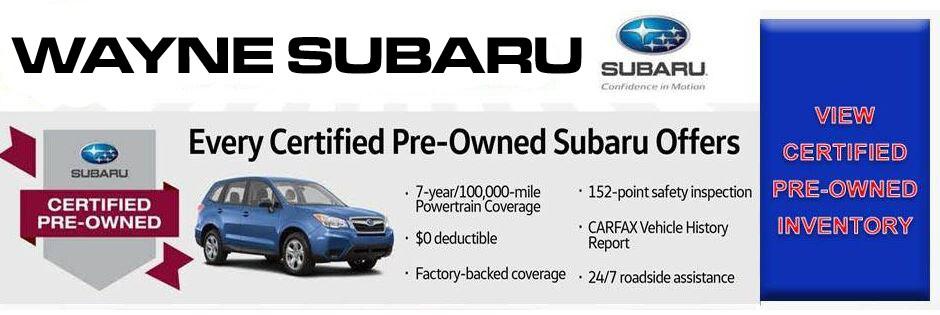 New Subaru Used Car Dealer Wayne Subaru Serving - Subaru dealership new jersey