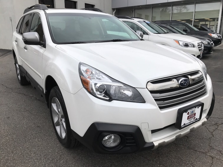 Certified Used 2014 Subaru Outback 2.5i Limited (CVT) SUV in Wayne NJ