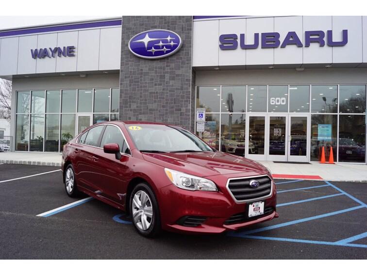 Certified Used 2016 Subaru Legacy 2.5i Sedan in Wayne NJ