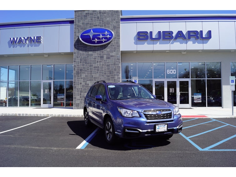 Certified Used 2018 Subaru Forester 2.5i Premium SUV in Wayne NJ