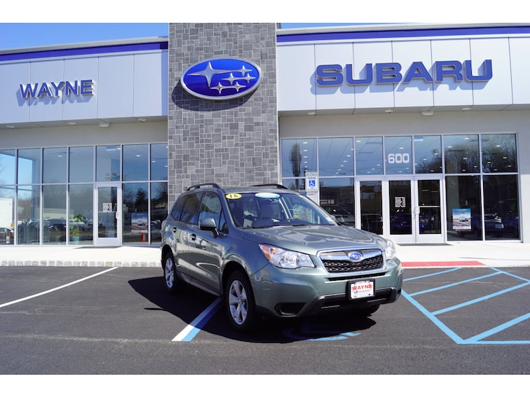 Certified Used 2016 Subaru Forester 2.5i Premium SUV in Wayne NJ