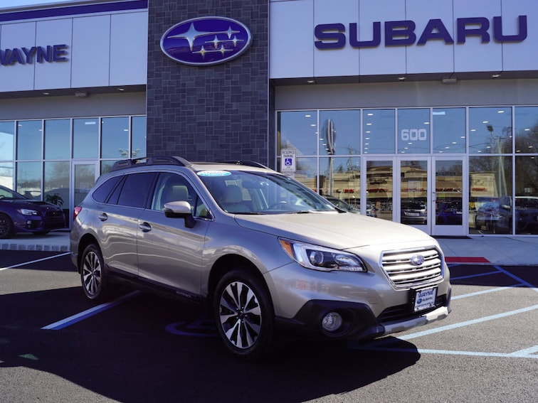 Certified Used 2017 Subaru Outback 2.5i Limited with SUV in Wayne NJ