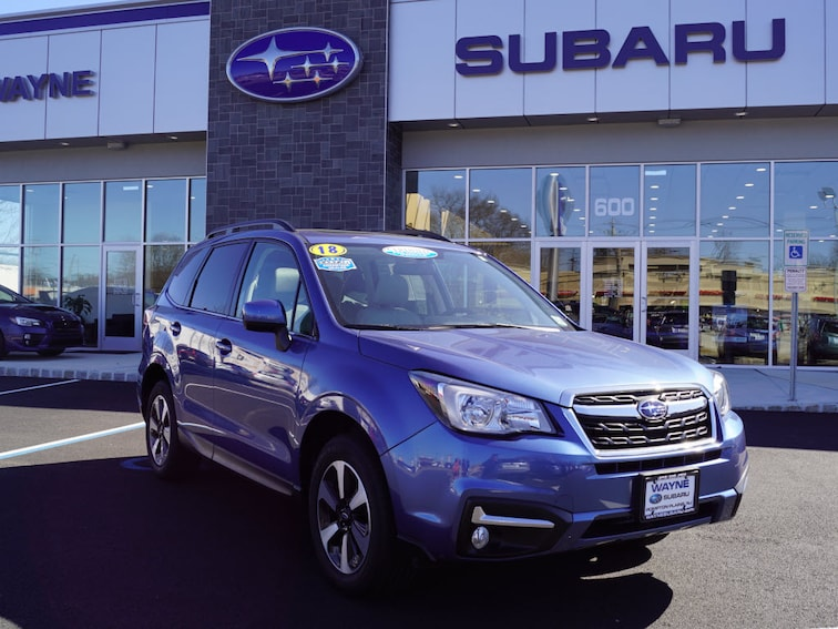 Certified Used 2018 Subaru Forester 2.5i Limited SUV in Wayne NJ