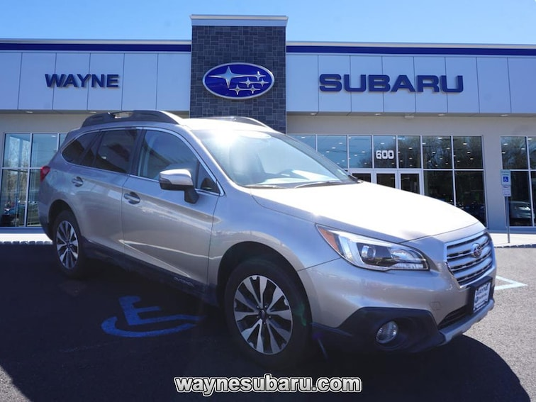 Certified Used 2016 Subaru Outback 2.5i Limited SUV in Wayne NJ
