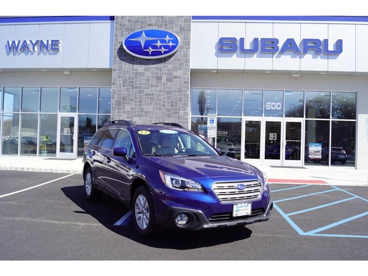 Certified Used 2017 Subaru Outback 2.5i Premium with SUV in Wayne NJ