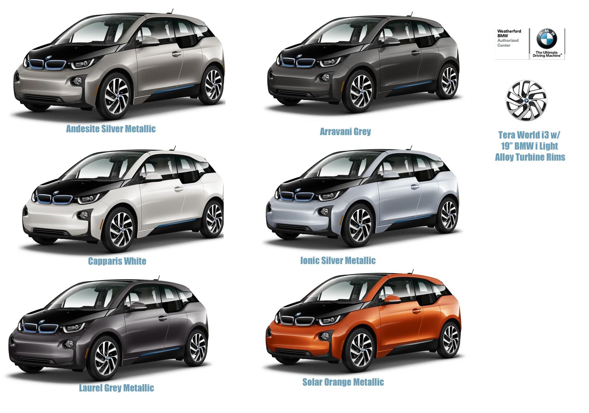 2014 BMW I3 Tera World Trim Level
